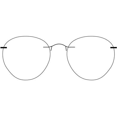 7d8fb86a3b RIMLESS GLASSES - Panto Glasses
